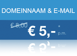 Domeinnaam + E-mail