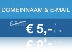 Domeinnaam + E-mail